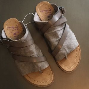 Blowfish New Grey Sandals